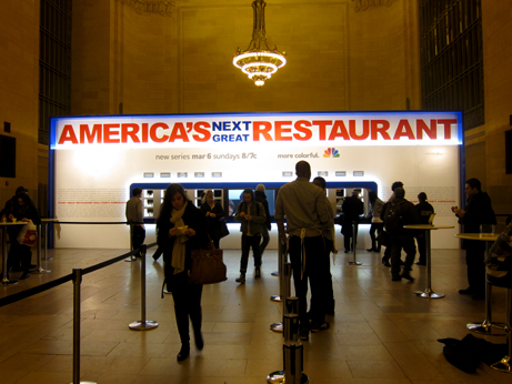 America's Next Great Restaurant Grand Central Pop-Up