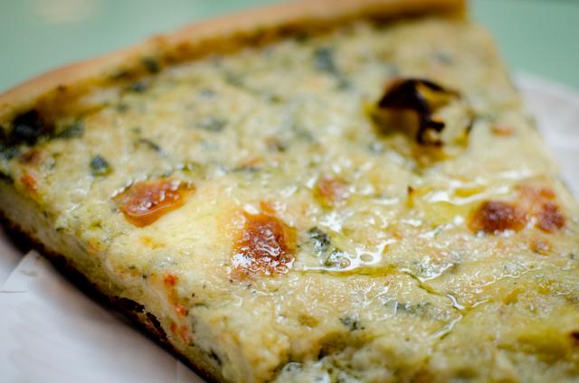 Artichoke Basille's Pizza NYC, Artichoke Slice