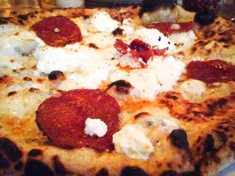Barboncino pizza, Brooklyn, NYC