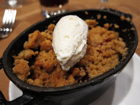 Craftbar Apple and Cranberry Crumble