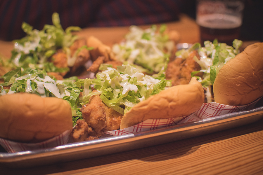 Dave Santos Nashville Hot Chicken Pop-Up at Bark Hot Dogs