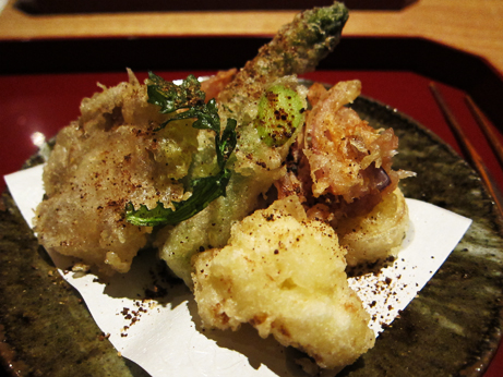 Kajitsu Tempura Vegetables