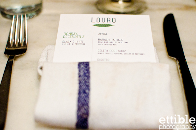 Louro NYC Truffle Dinner