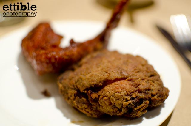 NYC Restaurant Reviews » Momofuku Noodle Bar Fried Chicken Dinner