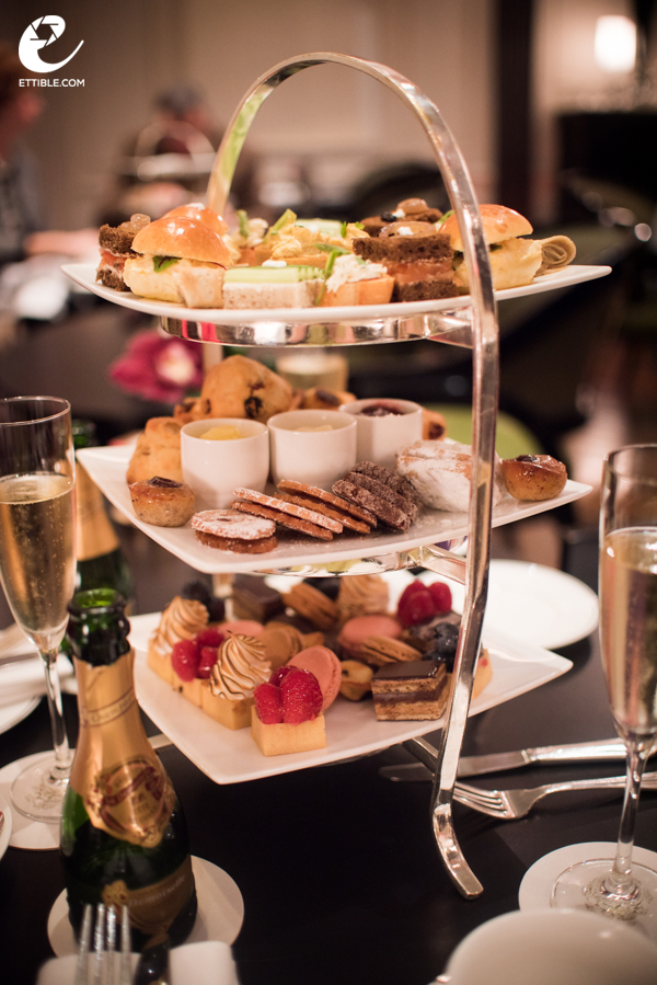 Afternoon tea at The Pierre Hotel, NYC