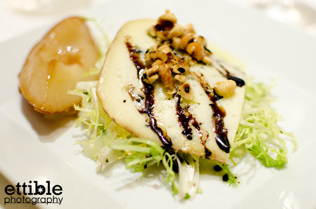 salad crab with pear and hazelnut crab salad with pear and hazelnuts ...