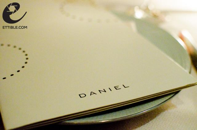 Daniel Tasting Menu, NYC