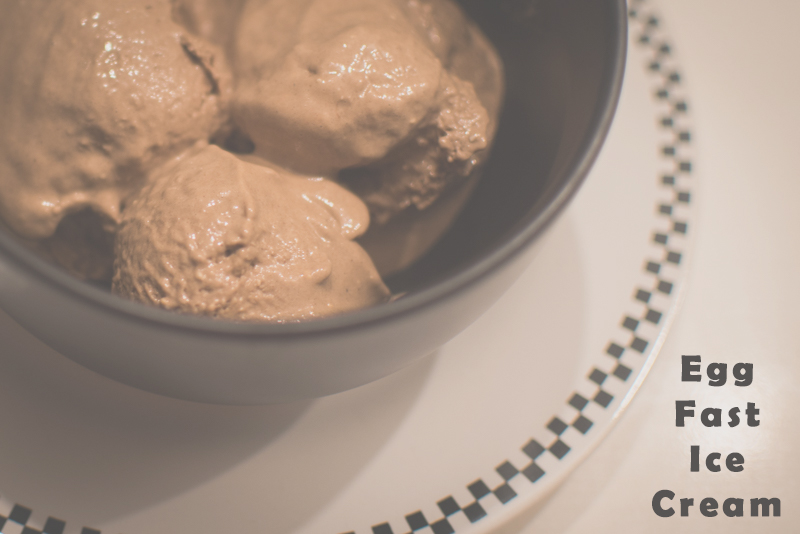 Egg Fast Low-Carb Ice Cream