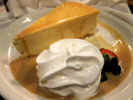 Kennedy's Kahlua Cheesecake