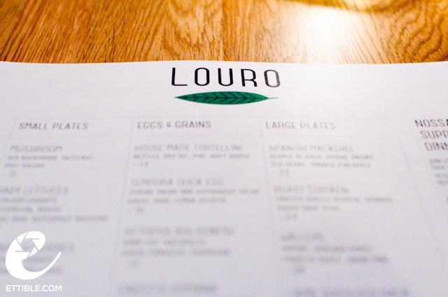 Louro Tasting Menu, NYC